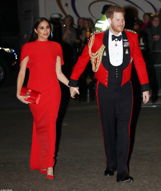 Duke and Duchess of Sussex at the Mountbatten Festival of Music