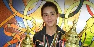 Hend Zaza, 11-year-old Syrian table tennis players qualifies for Tokyo Olympics.