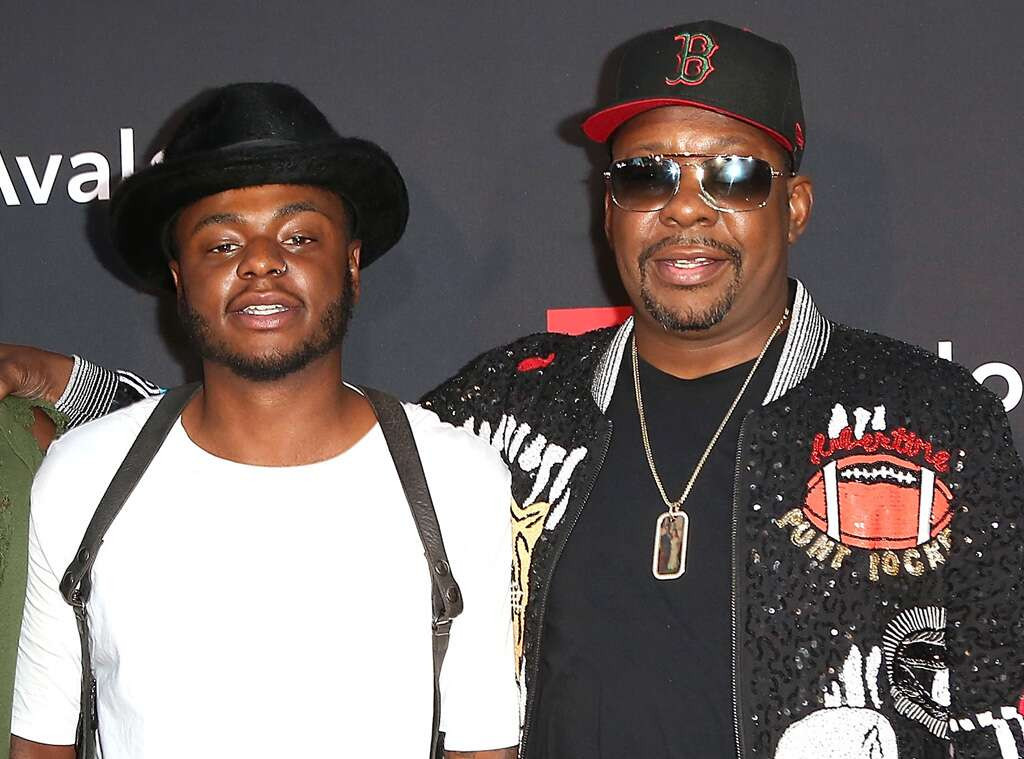 Bobby Brown and son