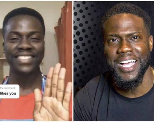 Kevin Hart's Zambian look alike